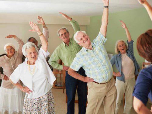 ćwiczenia seniorów
